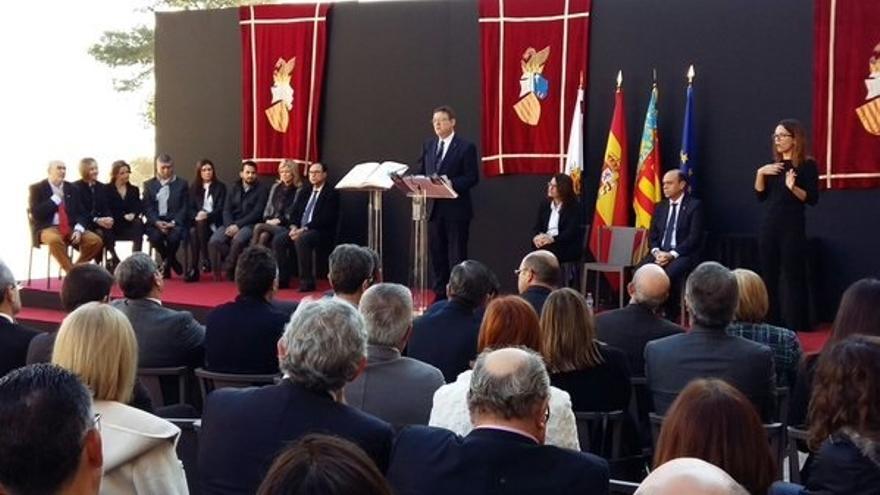 """Puig llama a """"no tener miedo de reformar la Constitución"""" y cree que hay que adaptarla a """"las nuevas circunstancias"""""""