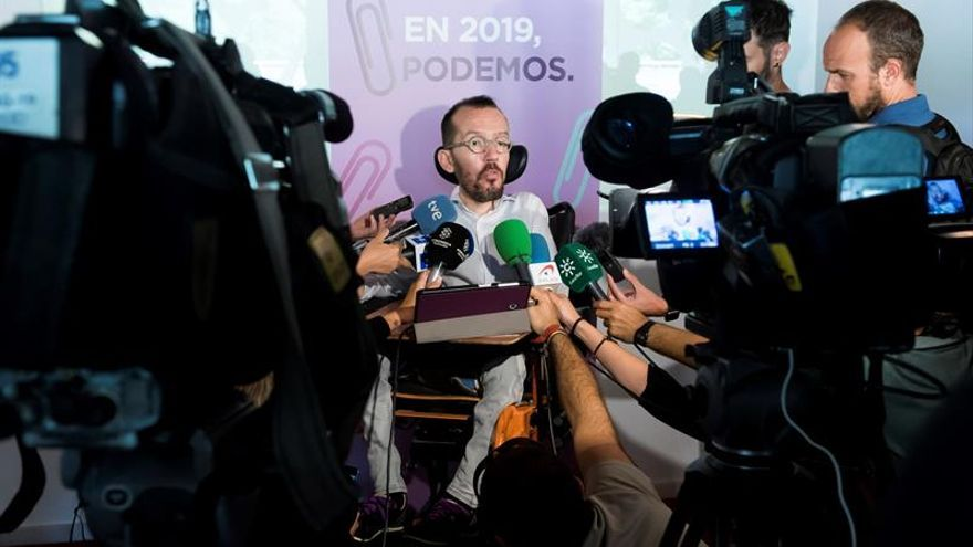 """Echenique: la presidencia de RTVE """"no es tanto el nombre, sino pasar página"""""""
