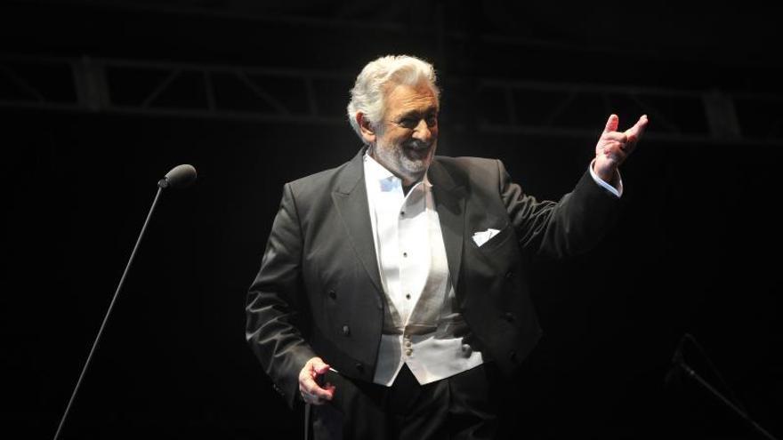 Plácido Domingo ofrece hoy en Madrid un concierto gratuito en La Almudena