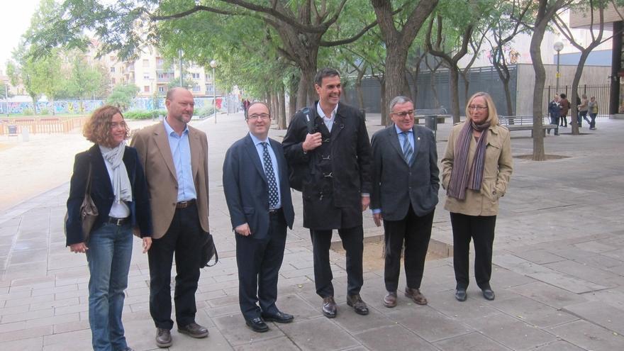 Sánchez (PSOE) participa en la Ejecutiva del PSC y hará rueda de prensa con Iceta