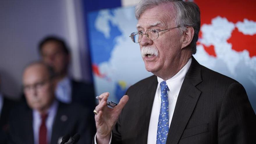 John Bolton, exasesor de Seguridad Nacional de EEUU