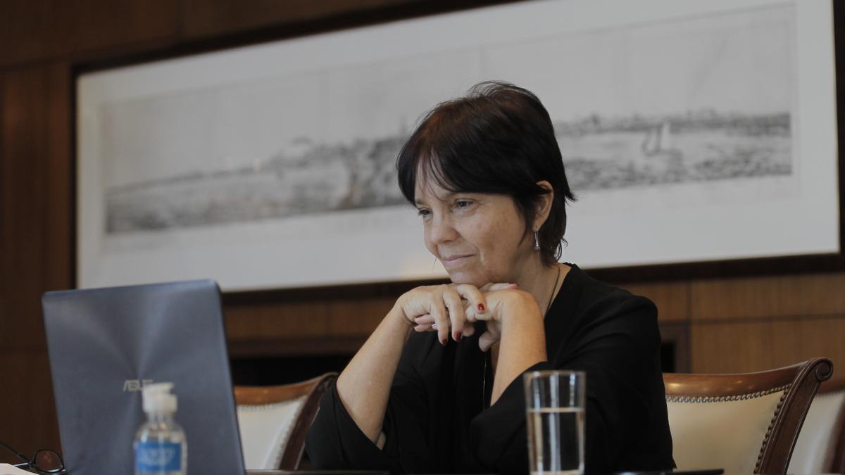 La jefa de la AFIP, Mercedes Marcó del Pont