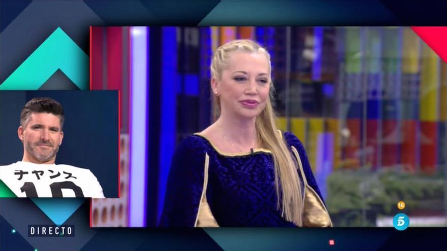 Belén Esteban volvió a 'GH VIP' como una Julieta moderna y Toño le piropea