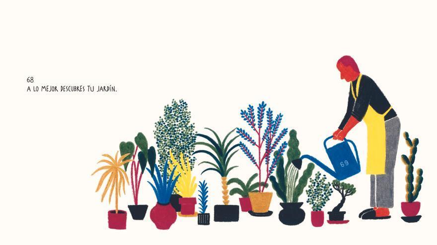 Ilustración de Valerio Vidali para '100 Años, lo que la vida te enseña'