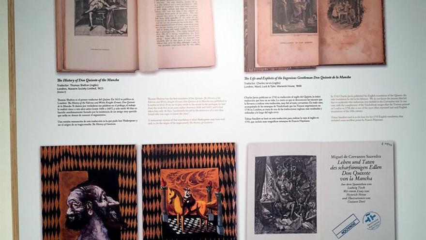 El Quijote más universal se presenta en una exposición en Nueva York