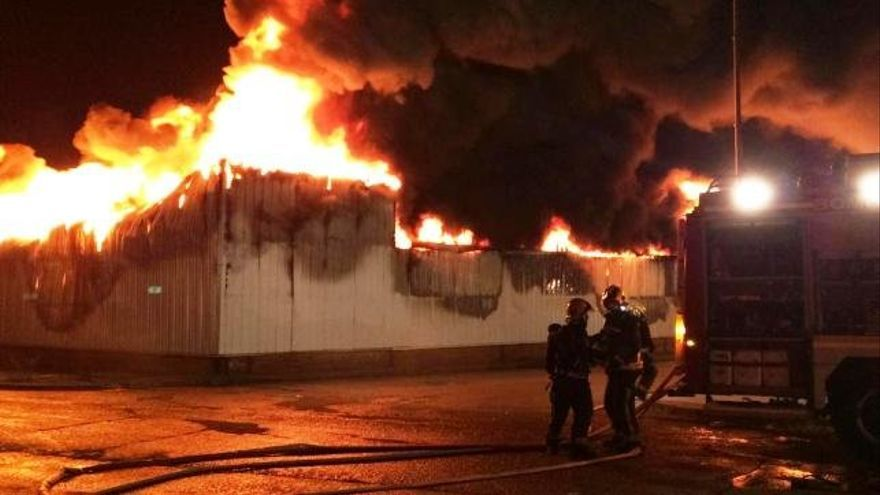 Incendio de Seseña. Foto: 112 Comunidad de Madrid.
