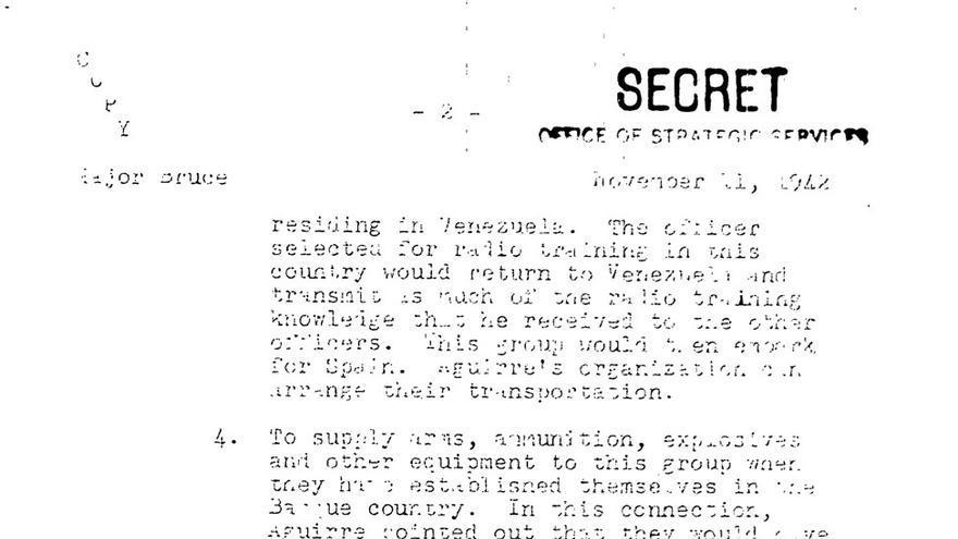 La CIA valoró armar a la oposición vasca para ayudar a derrocar a Franco Aguirre-reclama-armas-Unidos_EDIIMA20170708_0215_19