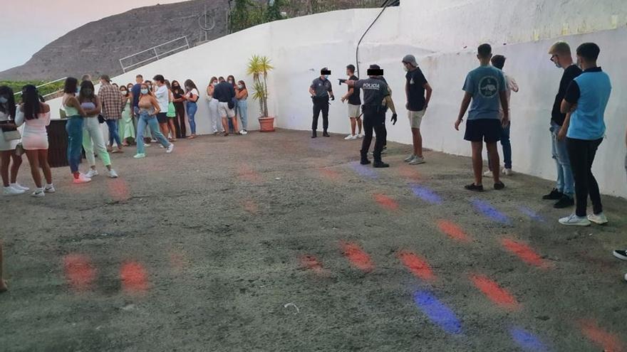 78 personas, 15 de ellas menores, celebran una fiesta sin permiso en Güímar vulnerando las medidas de seguridad frente a la COVID-19