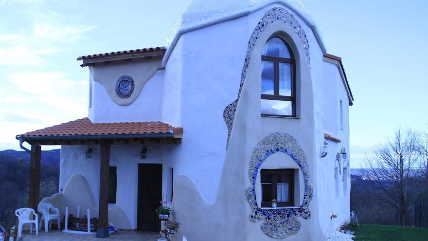 Una de las casas construidas por EcoDome. / EcoDome.