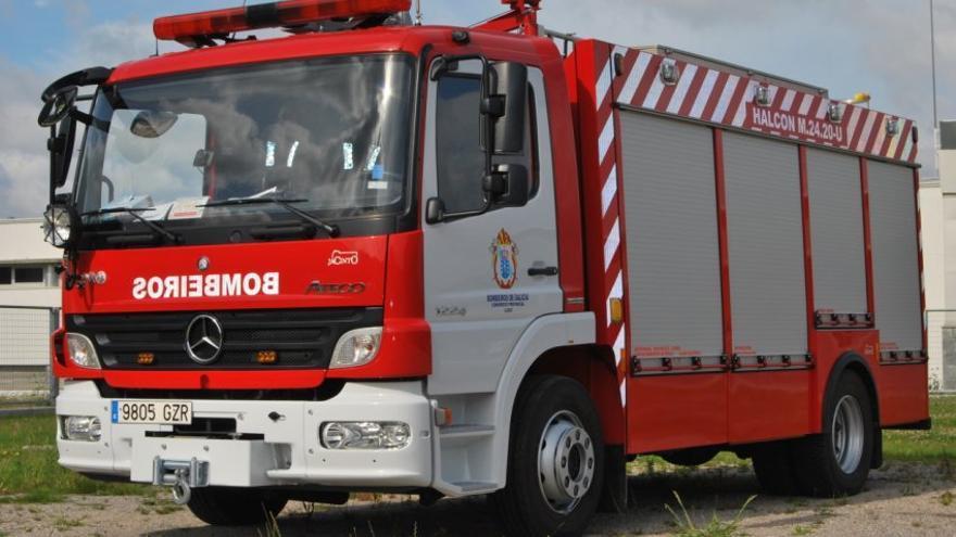 Un vehículo de bomberos del consorcio provincial de Lugo, en una imagen de la empresa concesionaria