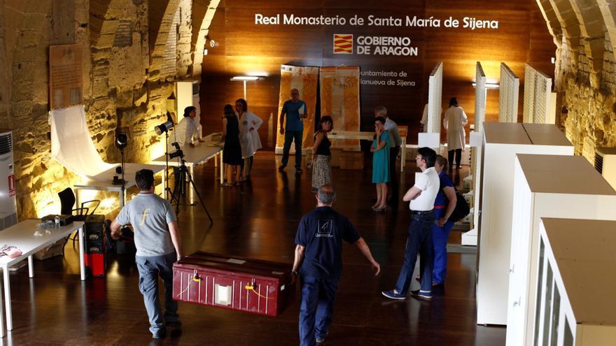 El pasado 11 de diciembre regresaron a Aragón 43 piezas.