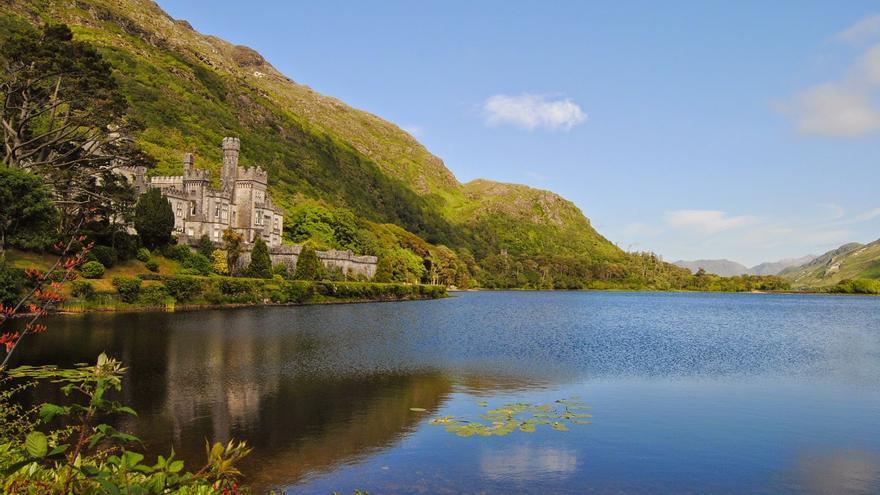 El Castillo de Kleymore Abbey, uno de los iconos históricos de Connemara. Marcos Lomba