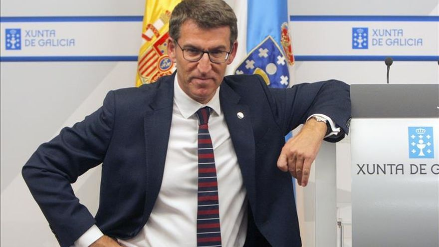 Feijóo: En el PP no he escuchado a nadie poner en duda la candidatura de Rajoy