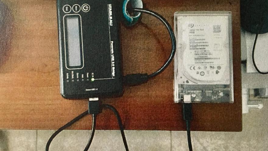 Análisis forense del disco duro del ordenador de la exjefa de Administración de la EMT, Celia Zafra.