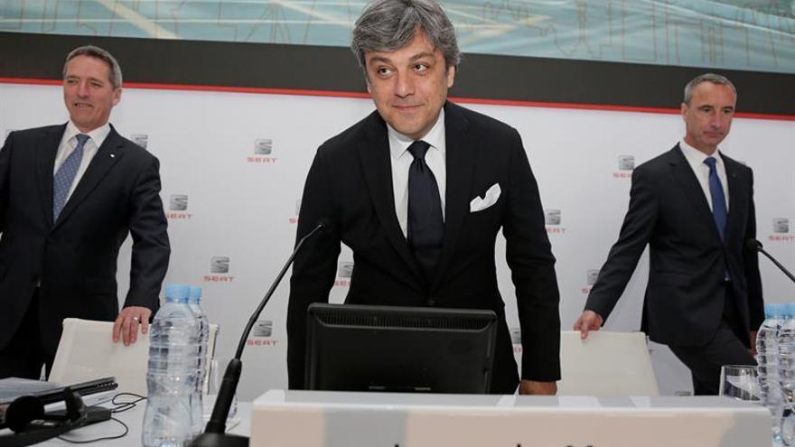 El presidente de SEAT explica en Barcelona a la red mundial los planes de futuro