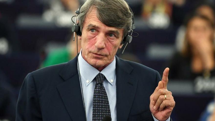 El italiano David Sassoli, elegido presidente del Parlamento Europeo