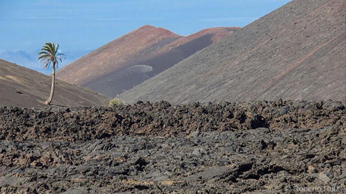 El Parque Nacional Timanfaya, en Lanzarote.