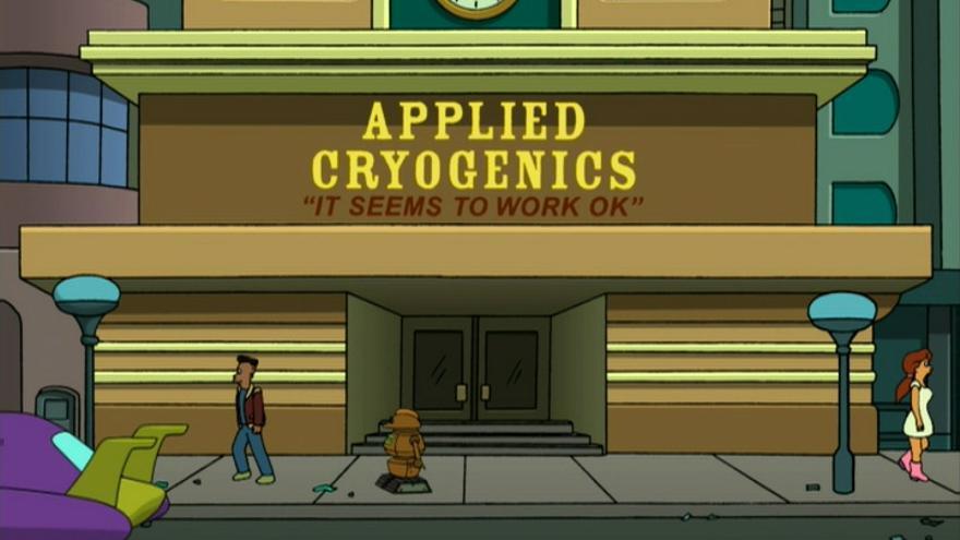 Lo que para Fry ('Futurama') solo era un reparto, acabó convirtiéndose en un sueño de mil años