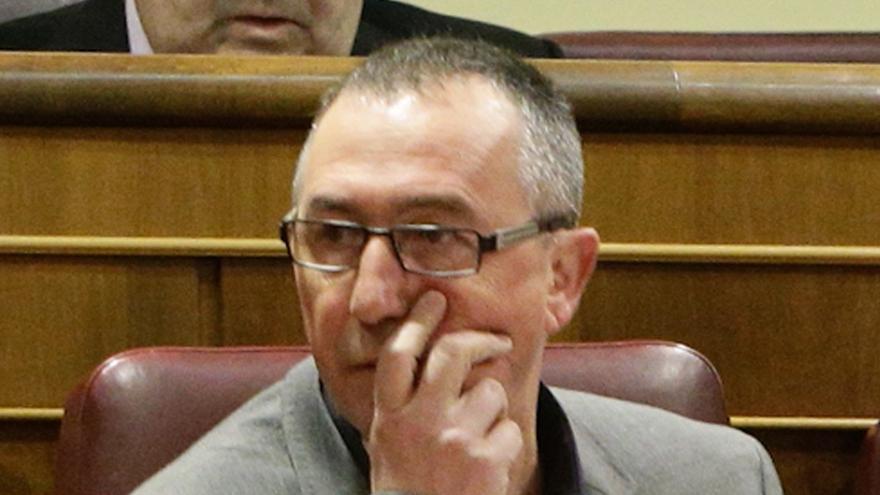 """Compromís quiere que Rajoy """"dé la cara"""" por la detención de Castellano e IU pide la comparecencia de Montoro"""