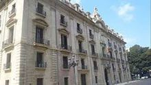 Palacio de Justicia de Valencia.