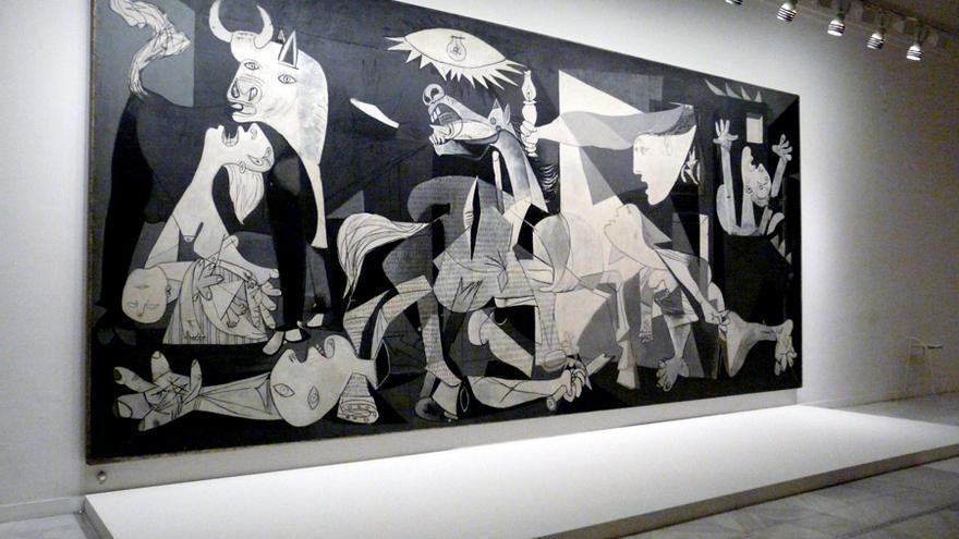 El 'Guernica' de Picasso. Museo Nacional Centro de Arte Reina Sofía (Madrid)
