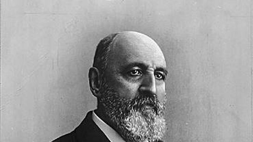El ingeniero cántabro Leonardo Torres Quevedo.