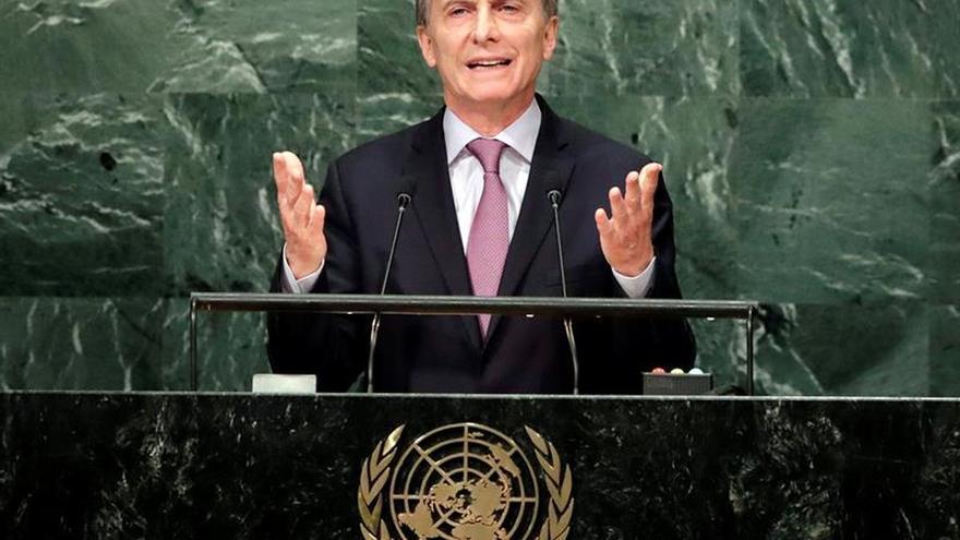 Macri asegura que Argentina ampliará el número de refugiados que acepta