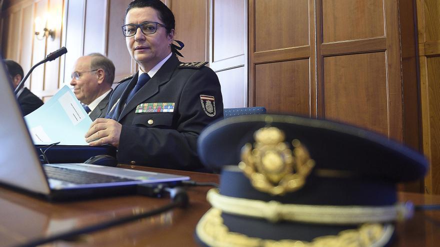 La subdirectora de Recursos Humanos y Formación de la Policía, comisaria principal Pilar Allúe