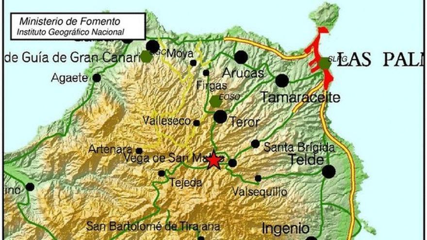 San Mateo registra un terremoto de magnitud 3,9