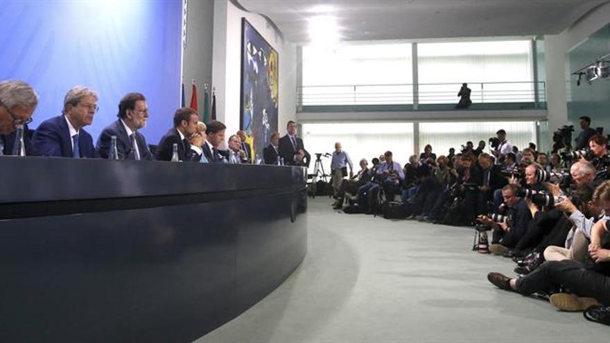 Frente europeo en el G20 en favor del Acuerdo de París y el libre comercio