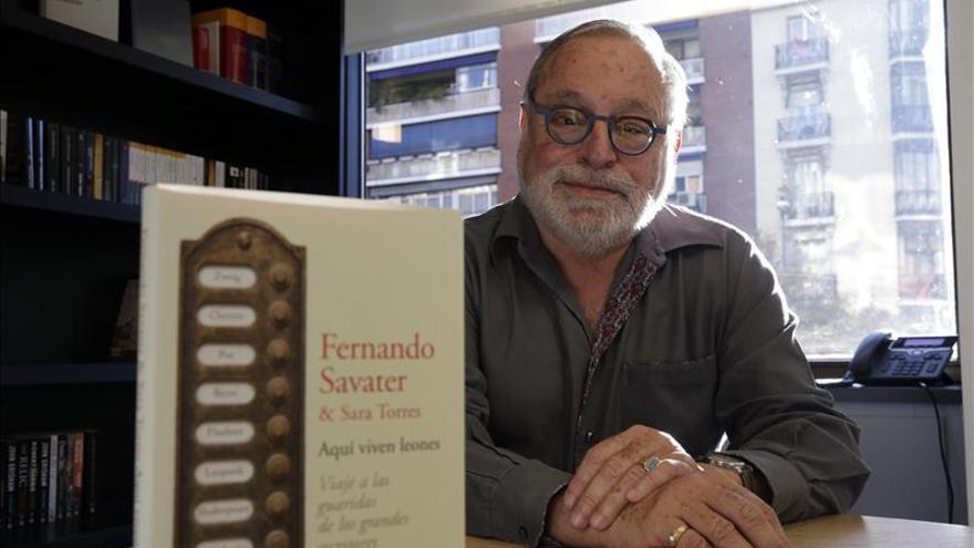 """Fernando Savater: """"Con este libro me despido"""""""