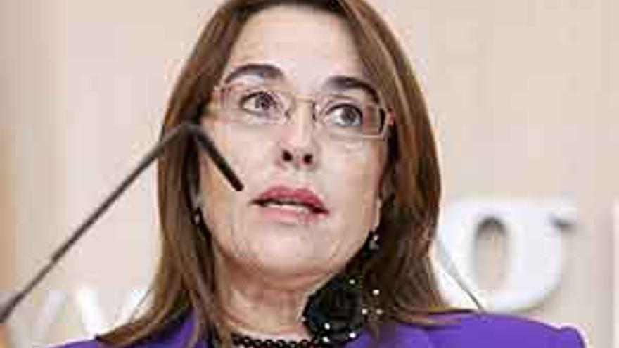 La viceconsejera de Hacienda y Planificación del Gobierno de Canarias, Rosa Rodríguez.