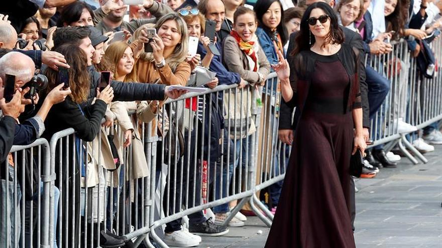 Monica Bellucci y Gérard Depardieu, protagonistas del festival luso Leffest