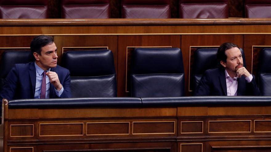 """Iglesias acusa al PP de estar """"fuera"""" de la Constitución al rechazar los pactos que propone Sánchez"""