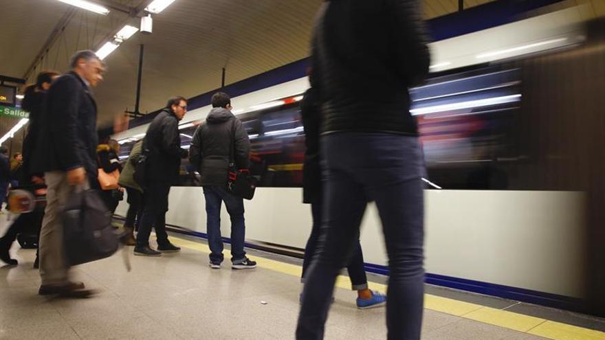 El primer lunes de paros en Metro discurre sin incidencias en el servicio