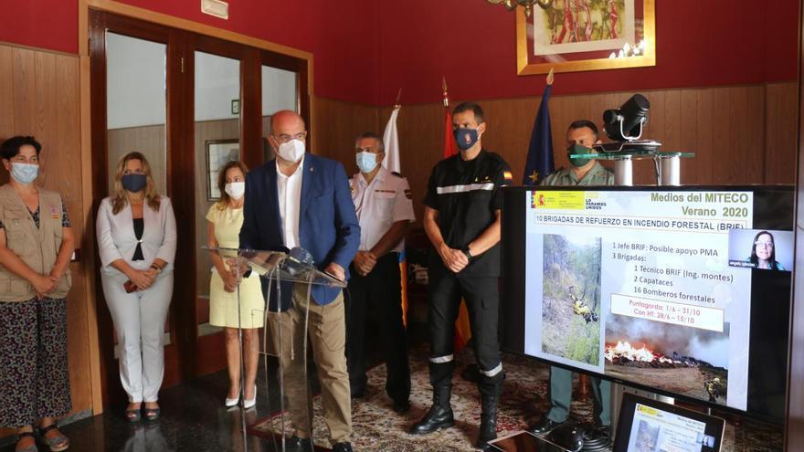 Las Brigadas de Refuerzo en Incendios Forestales de Puntagorda contarán con dos helicópteros