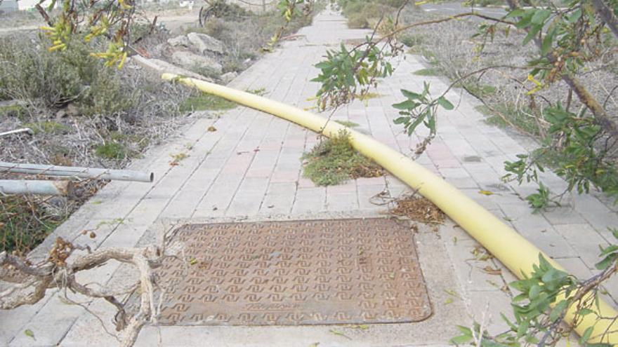 Entorno de la zona ZEC (febrero de 2009)