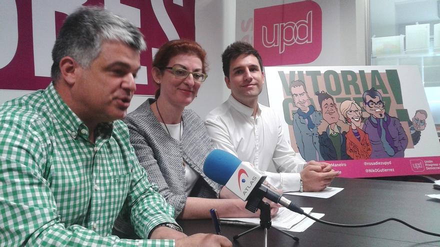 """Pagazaurtundua cree que es """"muy grave"""" que Lozano haya podido utilizar UPyD para ir """"en contra"""" de su propia formación"""