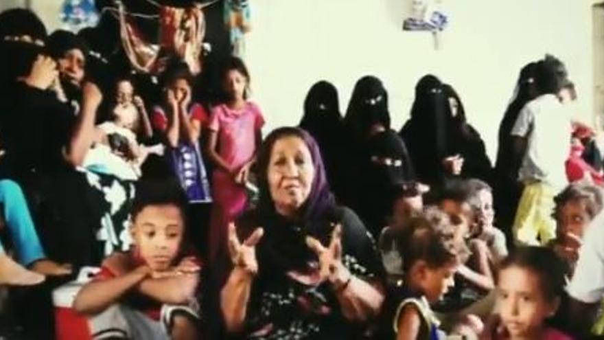Captura del vídeo de Oxfam Intermón
