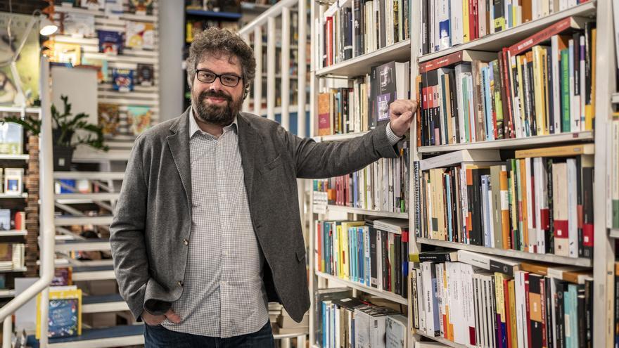 El escritor Sergio del Molino