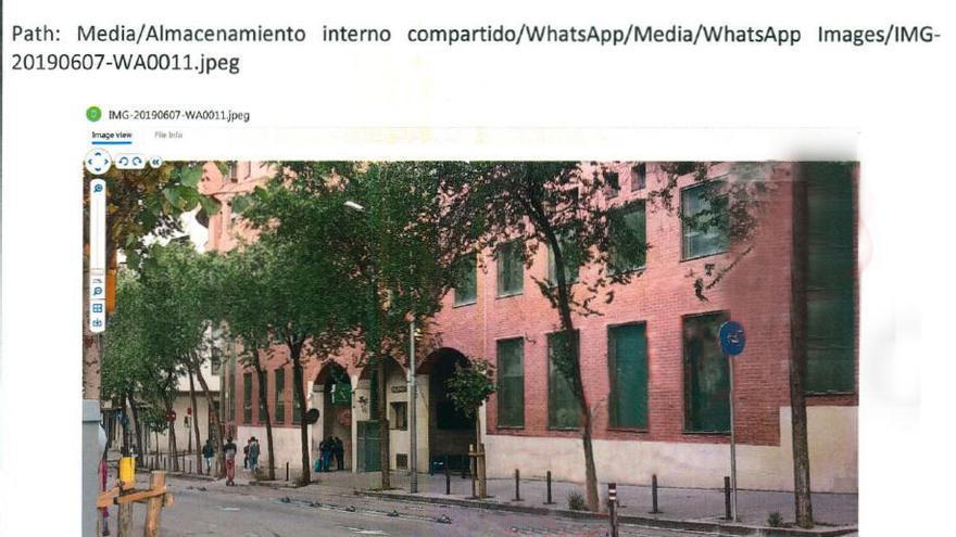 Imagen de las Dependencias Oficiales de la Guardia Civil de la VII Zona de Cataluña en Barcelona.