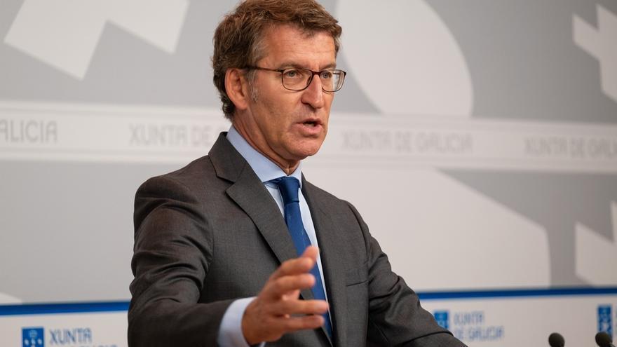 """Feijóo exige al Gobierno """"la totalidad del dinero"""" que debe a Galicia y lo acusa de actuar de forma """"frívola y sectaria"""""""