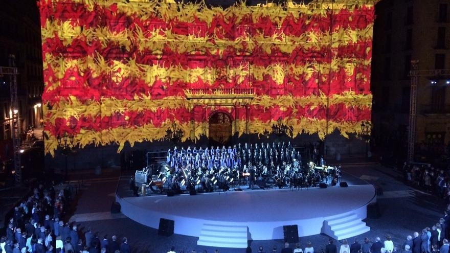 El acto oficial evoca la proclamación de la república catalana en 1931