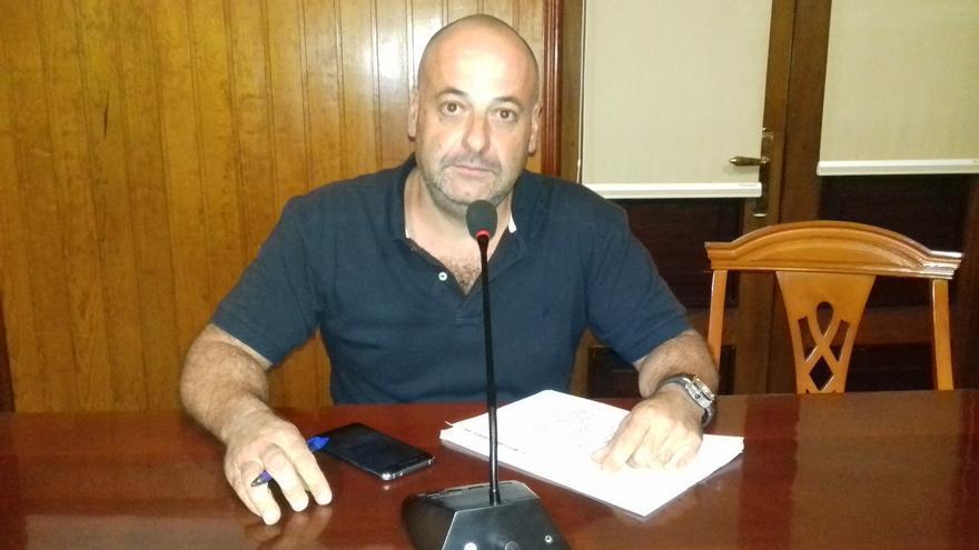 Carlos Martín, concejal de IUC en el Ayuntamiento de Tazacorte.
