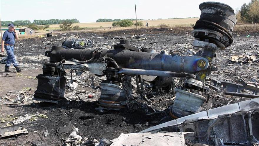 Rusia asegura que el misil que derribó el MH17 no salió de la zona prorrusa