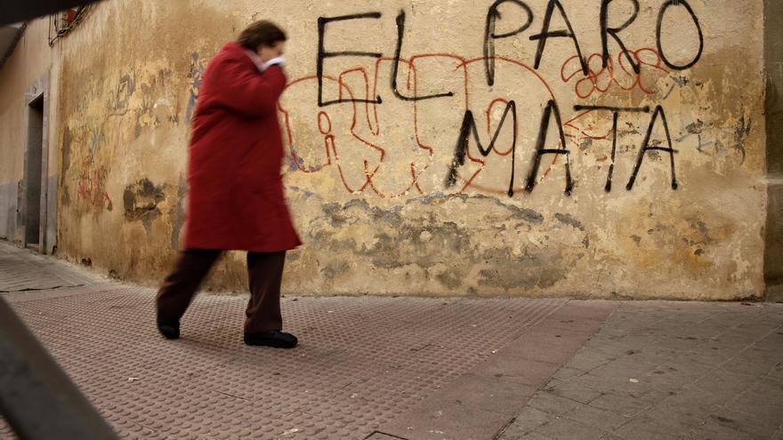 El paro mata. \ Olmo Calvo