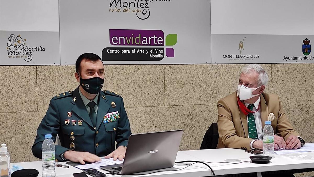 El teniente coronel jefe de la Comandancia de la Guardia Civil en Córdoba, Juan Carretero