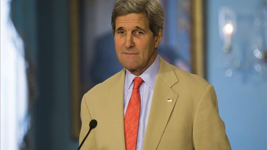 Kerry viajará la próxima semana a Francia, China y Omán