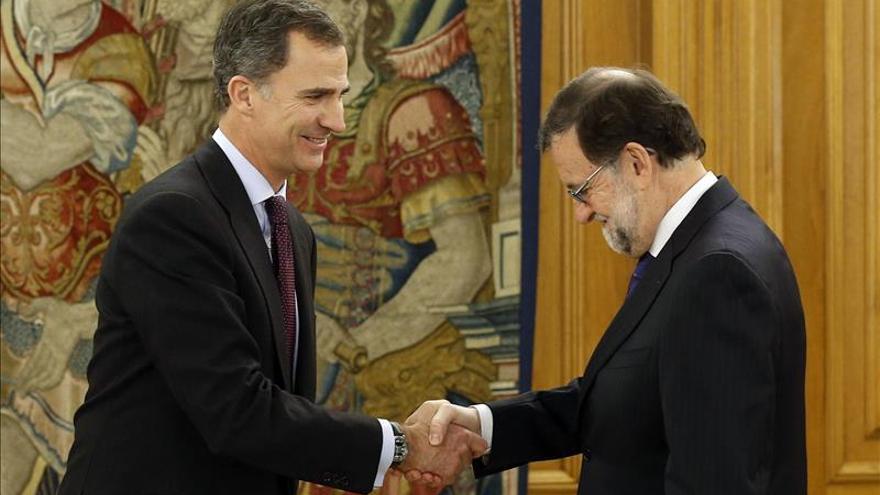 Rajoy comparecerá en la Moncloa tras su reunión con el Rey