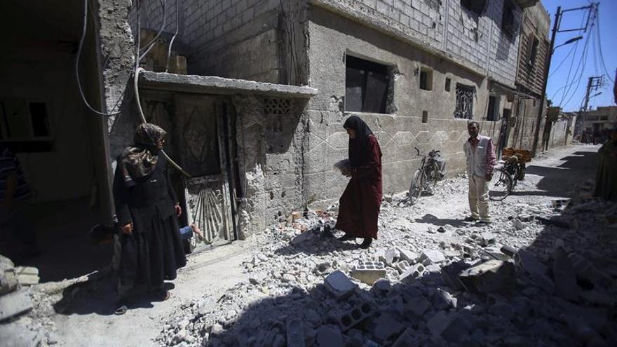 Varios cohetes caen en la zona de la Embajada rusa en Damasco, sin causar víctimas